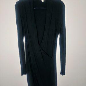 Wilfred Black Mini Dress Size M/L